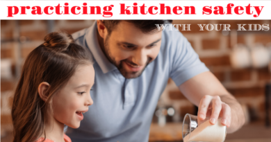 cooking through chronic pain- practicing kitchen safety with your kids #fibroparenting #chronicpain #beingfibromom