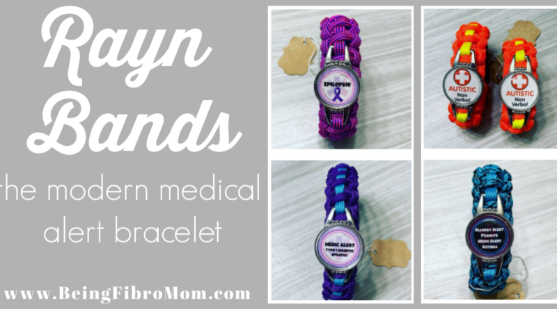 Rayn Bands The Modern Medical Alert Bracelet #medicalbracelet #raynbands #beingfibromom