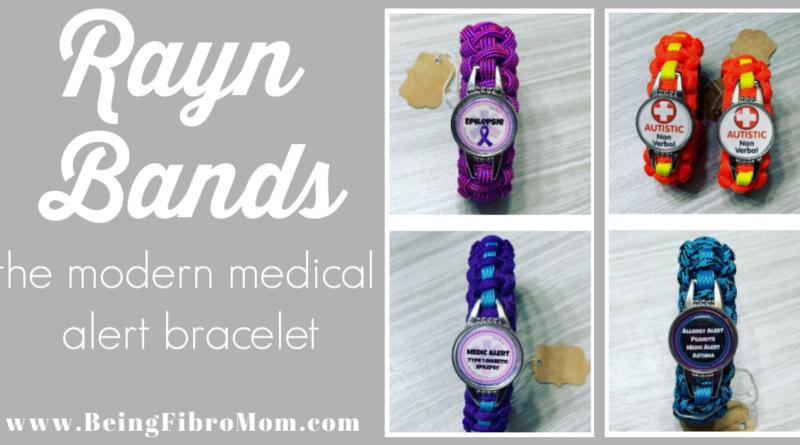 Rayn Bands The Modern Medical Alert Bracelet #medicalbracelet #raynbands #beingfibromom