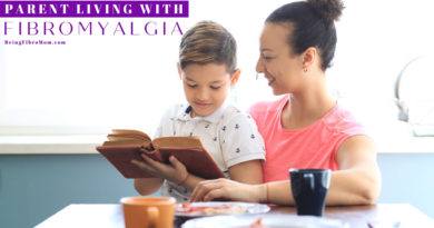 top 4 books for a parent living with fibromyalgia #fibroparenting #beingfibromom #fibromyalgia