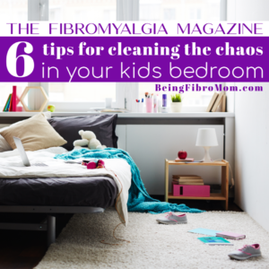 6 Tips for Cleaning the Chaos in Your  Kids Bedroom