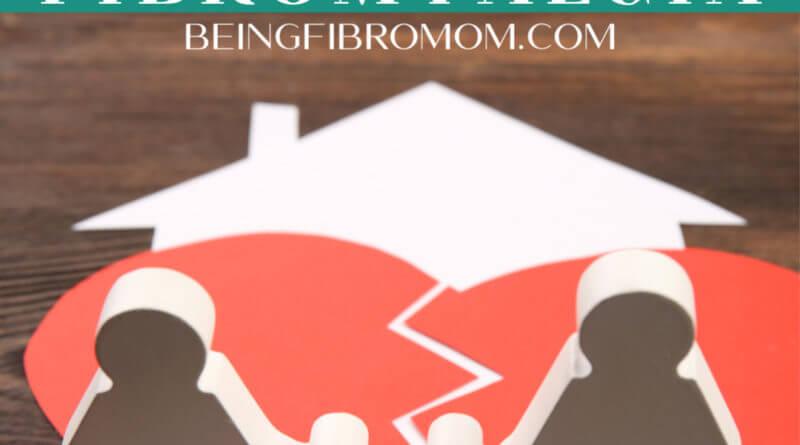 how divorce affects fibromyalgia #beingfibromom #fibroparenting #fibromyalgia #divorce
