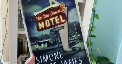Sun Down Motel by Simone St. James #bookreviews #beingfibromom