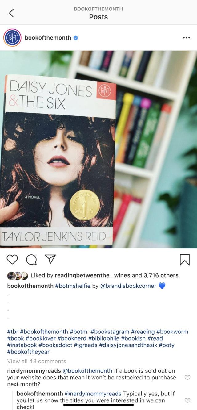 Daisy Jones & The Six #bookreviews #beingfibromom #brandisbookcorner #historicalfiction #daisyjonesandthesix