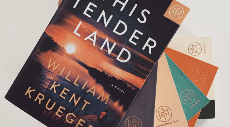 This Tender Land by William Kent Kreuger #bookreviews #thistenderland #brandisbookcorner #beingfibromom