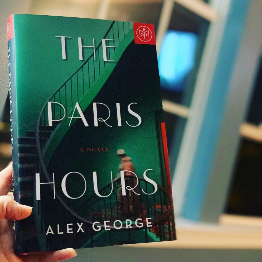 The Paris Hours by Alex George #beingfibromom #brandisbookcorner #bookreviews