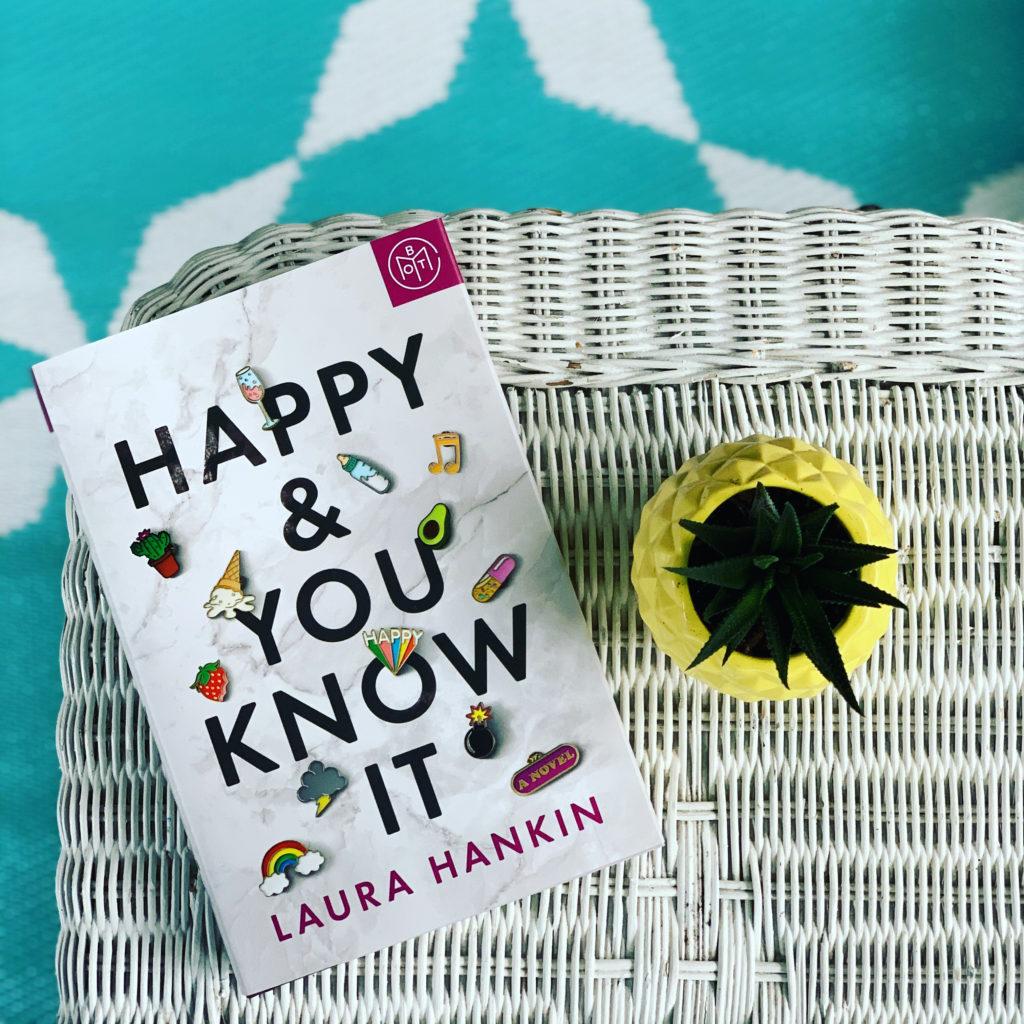 Happy & You Know It by Laura Hankin #brandisbookcorner #beingfibromom #bookreviews