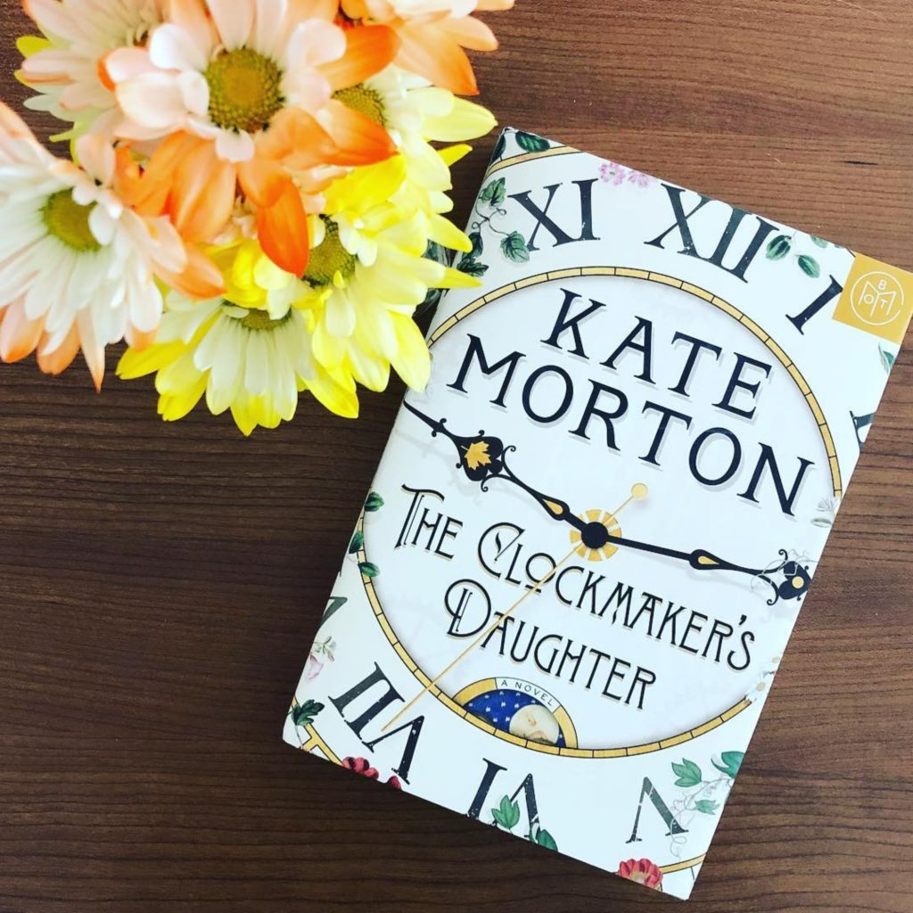 The Clockmakers Daughter by Kate Morton #bookreviews #BrandisBookCorner #beingfibromom
