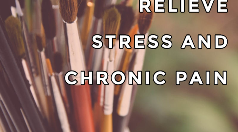 painting to relieve stress and chronic pain #chronicpain #stress #fibromyalgia #painting #beingfibromom #winniespicks