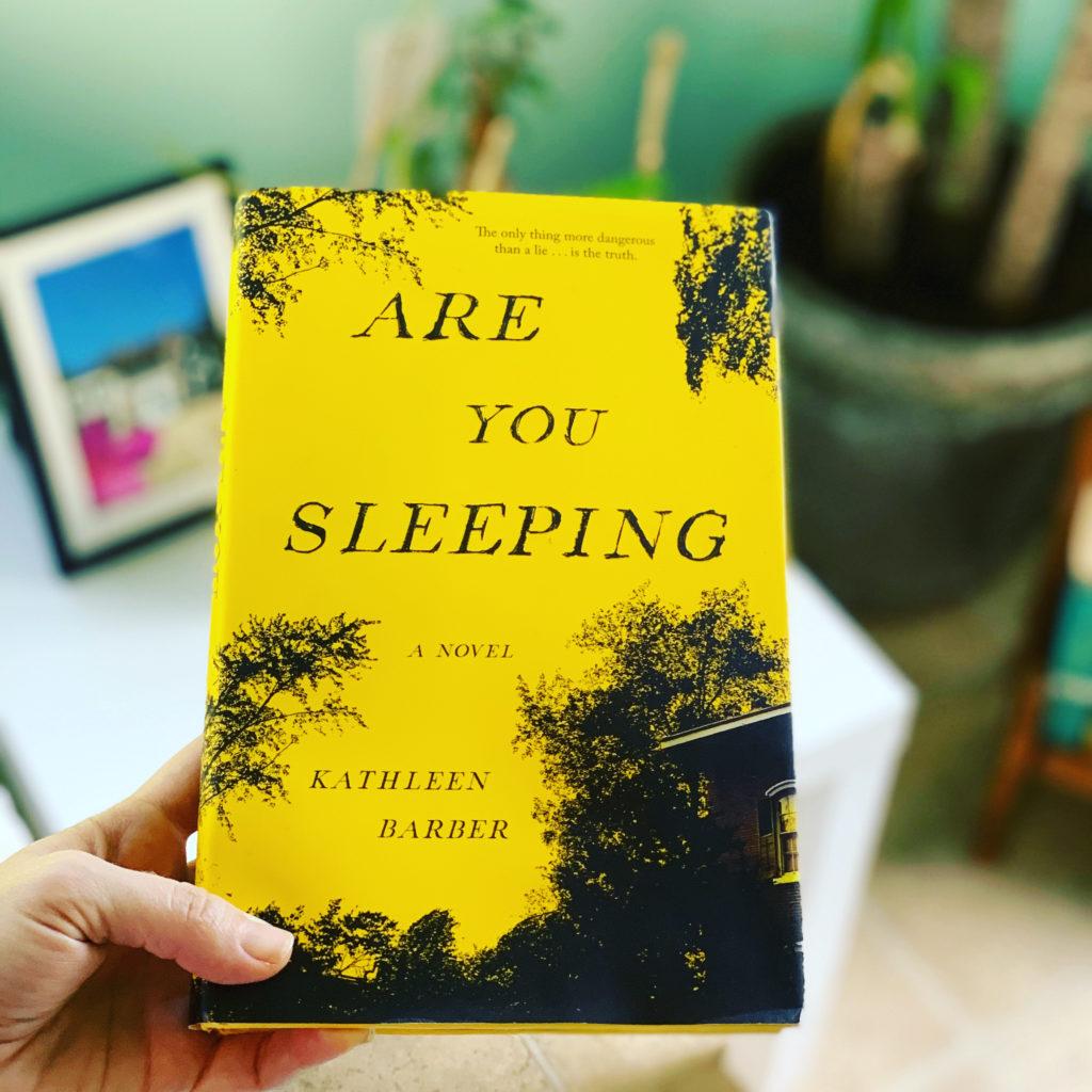 Are You Sleeping by Kathleen Barber #beingfibromom #bookreviews #Brandisbookcorner
