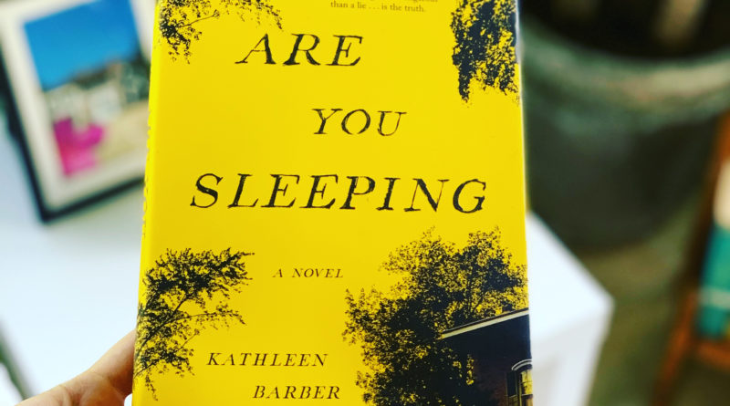 Are You Sleeping by Kathleen Barber #beingfibromom #bookreviews #Brandisbookcorner