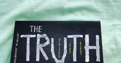 The Truth by Jeffry W. Johnston #bookreviews #beingfibromom #brandisbookcorner