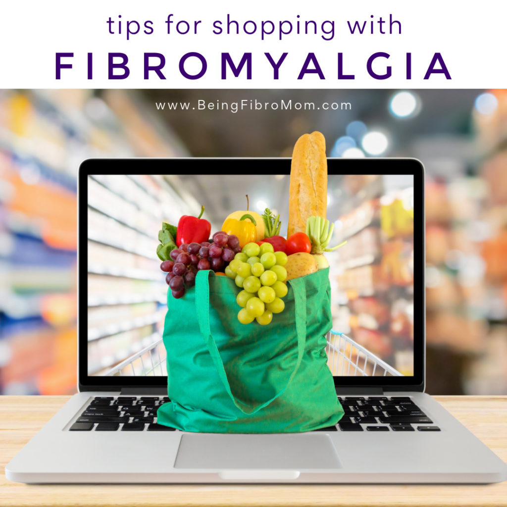 #shopping with #fibromyalgia #beingfibromom