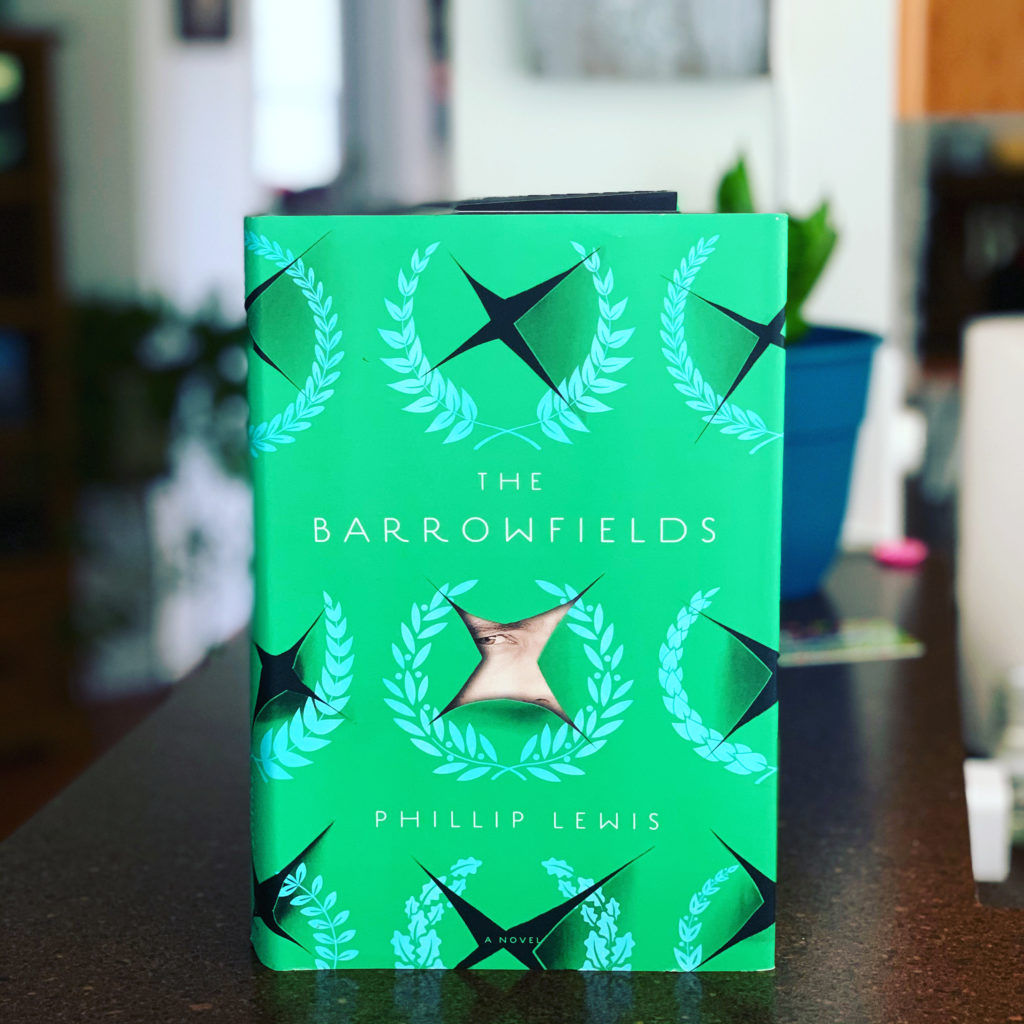 The Barrowfields by Phillip Lewis #bookreviews #brandisbookcorner #beingfibromom