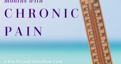 surviving hot summer months with chronic pain #chronicpain #fibromyalgia #beingfibromom