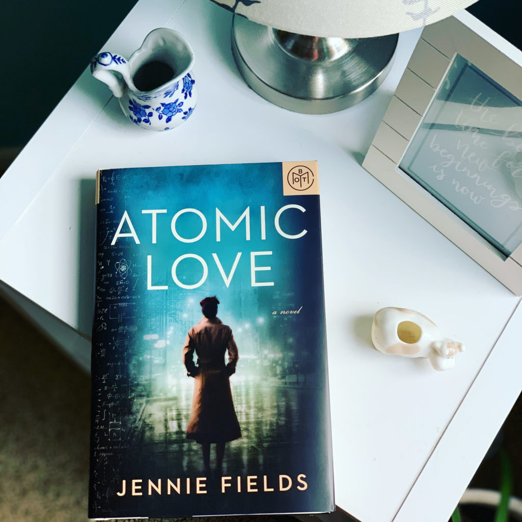 Atomic Love by Jennie Fields #bookreviews #brandisbookcorner #beingfibromom