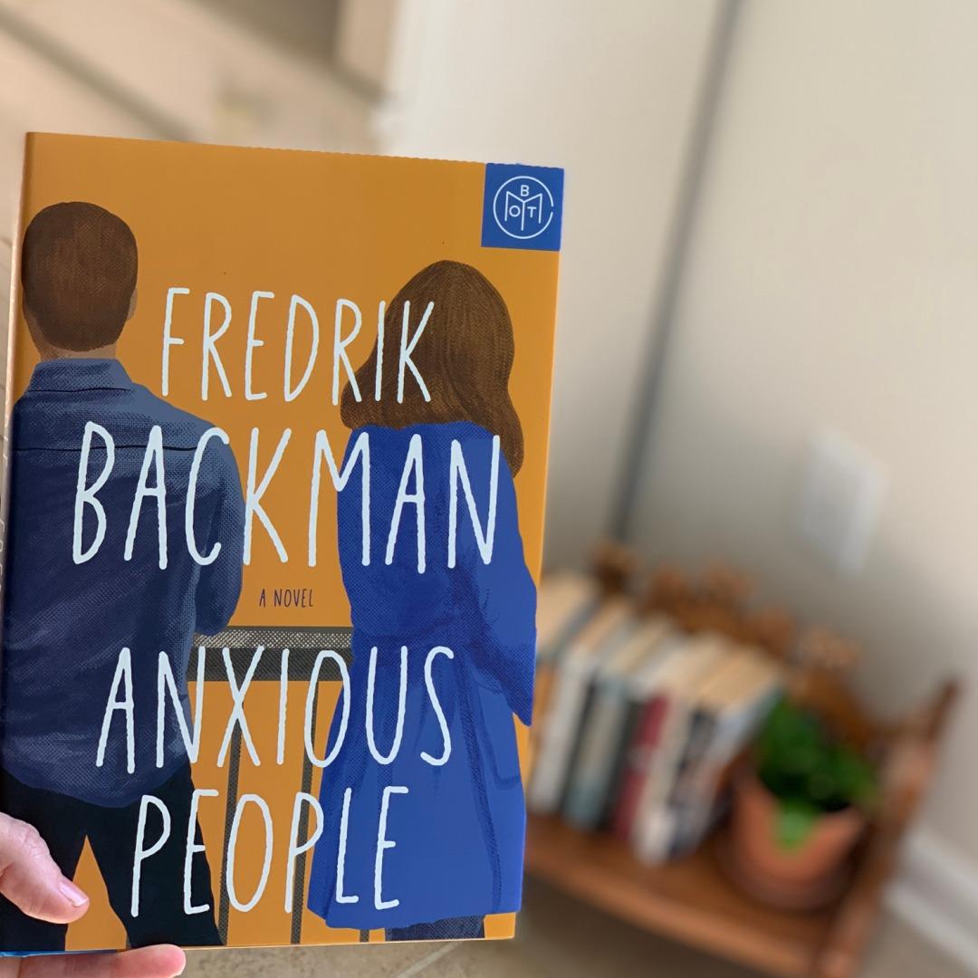 anxious people by Fredrik Backman #beingfibromom #bookreviews #brandisbookcorner
