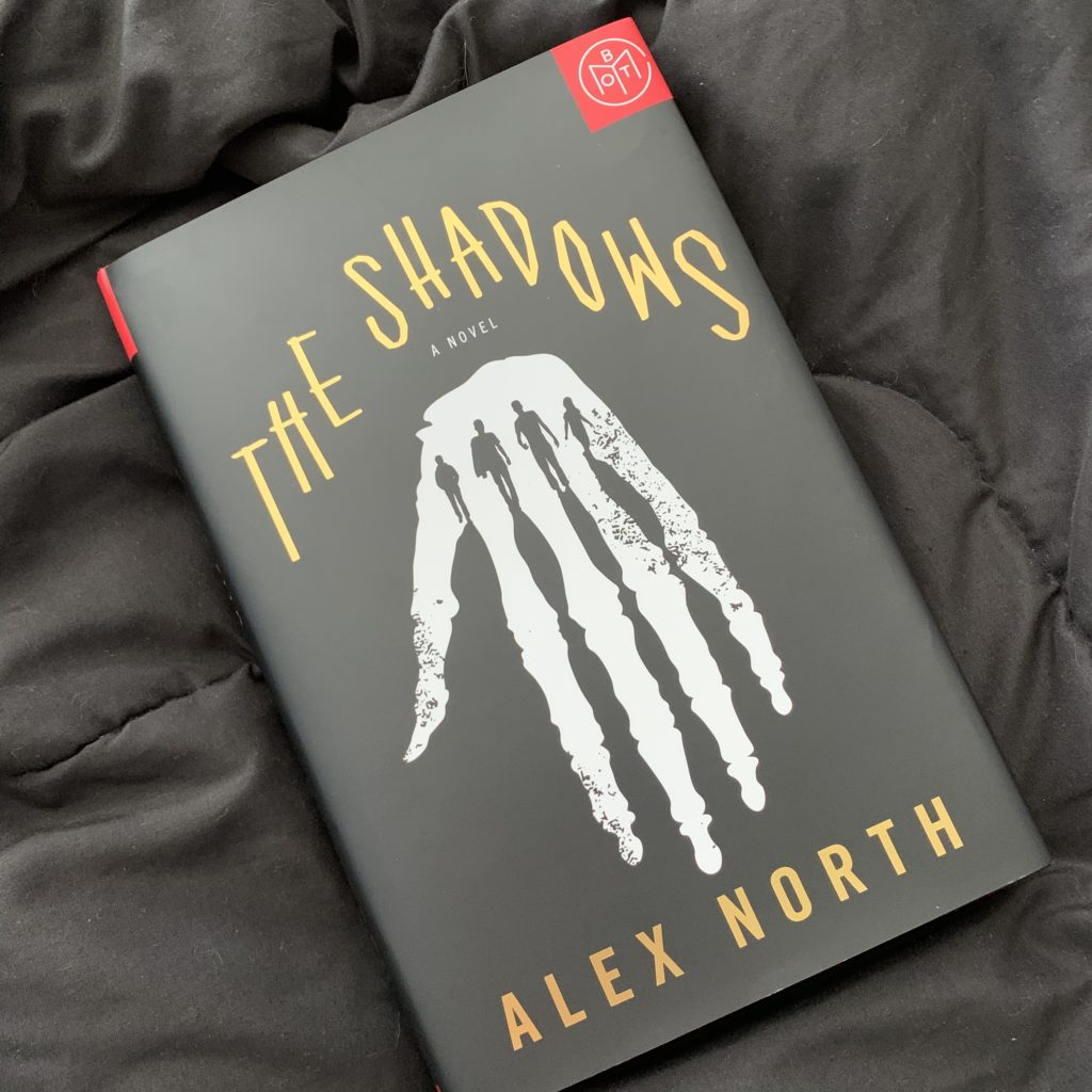 the shadows by Alex North #bookreviews #brandisbookcorner #beingfibromom